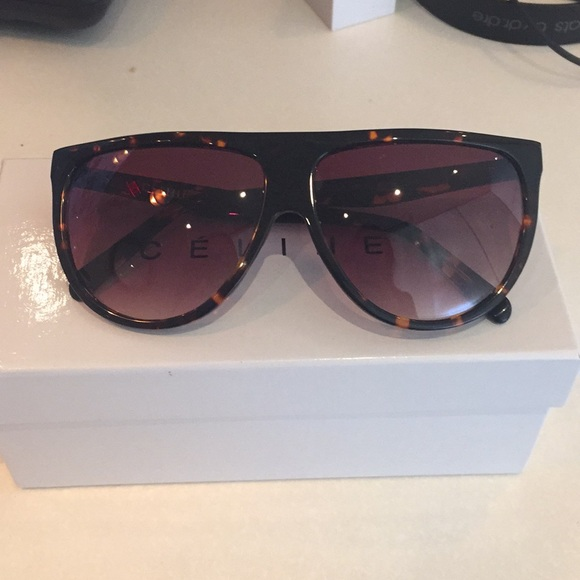 5f249f0934f Celine Slim Shadow Sunglasses